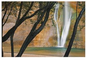 Calf Creek Falls by Donald Paulson