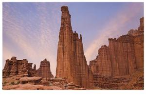 Fisher Towers by Donald Paulson