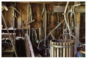 Historic Farm Tools by Donald Paulson