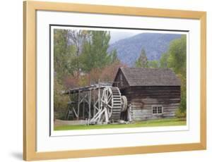 Historic Grist Mill by Donald Paulson