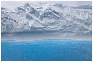 Iceberg Abstract by Donald Paulson