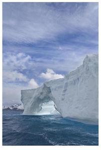 Iceberg Arch by Donald Paulson