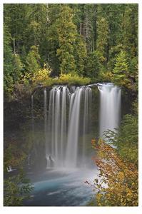 Koosah Falls by Donald Paulson