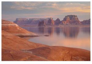 Lake Powell Pastel Sunset by Donald Paulson