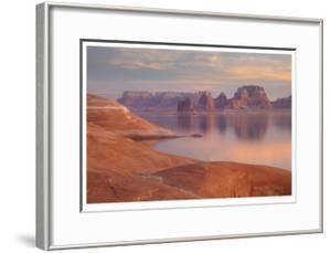 Lake Powell Pastel Sunset by Donald Paulson
