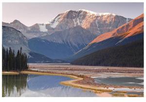Mount Kitchener Reflection by Donald Paulson