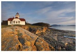 Patos Island Lighthouse II by Donald Paulson