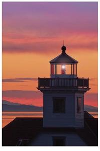 Patos Island Lighthouse IV by Donald Paulson