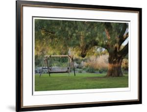 Shady Garden Retreat by Donald Paulson