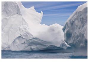 South Georgia Island Iceberg by Donald Paulson