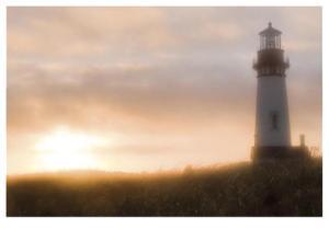 Yaquina Head Light House by Donald Paulson