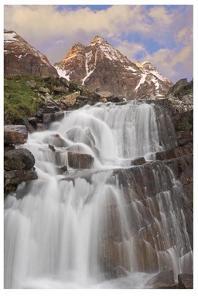 Yoho National Park Falls by Donald Paulson
