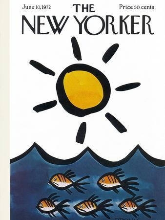 The New Yorker Cover - June 10, 1972