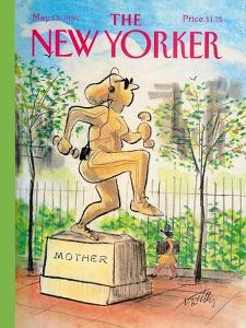 The New Yorker Cover - May 13, 1991 by Donald Reilly