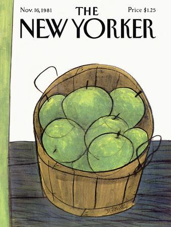 The New Yorker Cover - November 16, 1981