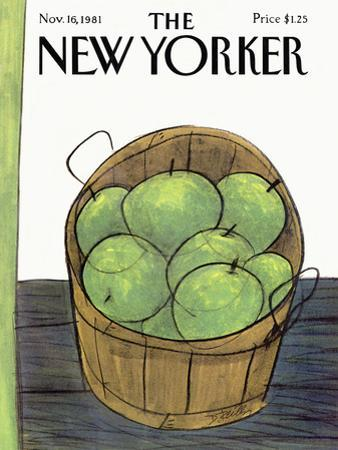 The New Yorker Cover - November 16, 1981 by Donald Reilly