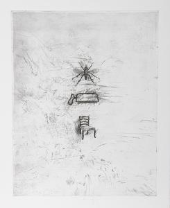 Untitled - Chair Iron Fly by Donald Saff