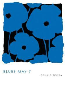 Blues, May 7 2009 by Donald Sultan