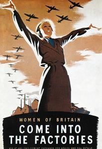 WWII: British Poster by Donald Zec