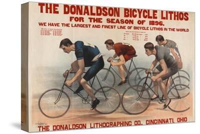 Donaldson Bicycle Lithos for 1896 Season