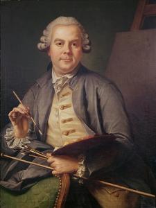 Self Portrait, 1758 by Donat Nonotte