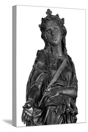 Altar of St. Anthony of Padua, Detail of Saint Giustina, 1446-53