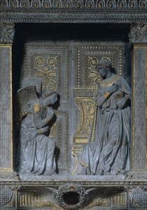 Annunciation for the Cavalcanti Altar, Ca 1435 by Donatello
