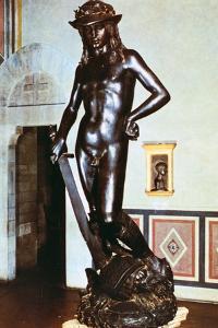 Bronze Statue of David, C1430-1440 by Donatello