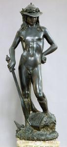 David, Bronze Sculpture by Donatello
