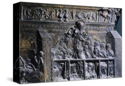 Detail from the Right Pulpit, Basilica of St Lawrence, Florence