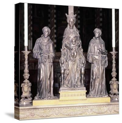 Italy, Padua, Basilica of Saint Anthony of Padua, Group of Virgin and Child with Saints