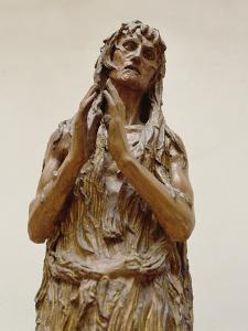 Penitent Magdalene, 1453-55 by Donatello