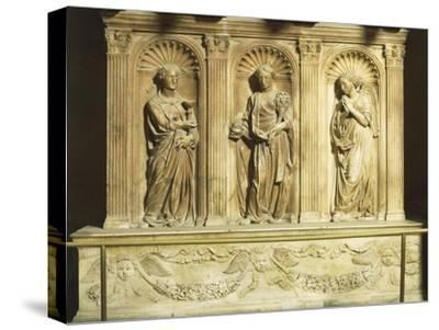 Three Theological Virtues, Detail from Antipope John XXIII's Tomb