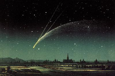 Donati's Comet, 1858-Detlev Van Ravenswaay-Photographic Print