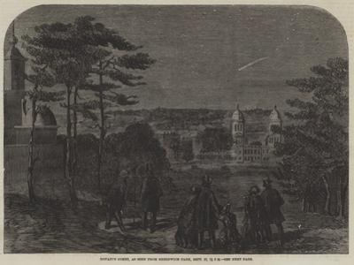 Donati's Comet, as Seen from Greenwich Park, 17 September, 7 PM