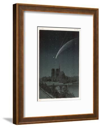 Donati's Comet Observed Over Paris