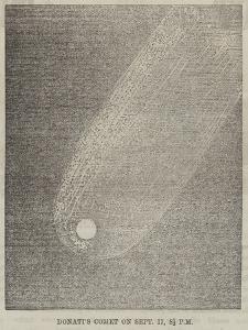 Donati's Comet on 17 September, 8 1/2 PM