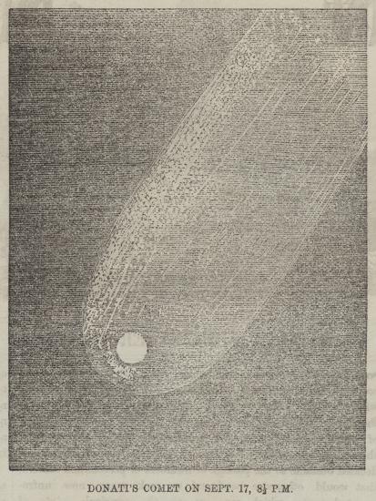 Donati's Comet on 17 September, 8 1/2 PM--Giclee Print