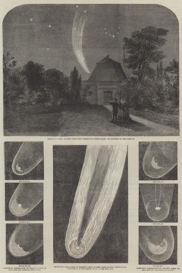 Donati's Comet-Richard Principal Leitch-Giclee Print