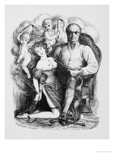 Donatien-Alphonse-Francois Marquis de Sade French Philosopher and Author-Eustache L'orsay-Giclee Print