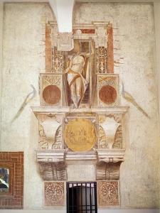 Argus Panoptes, in the Rocchetta by Donato Bramante