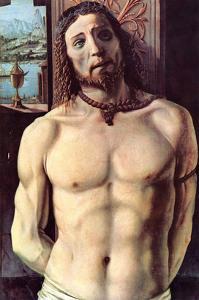 Christ Bound to the Column by Donato Bramante