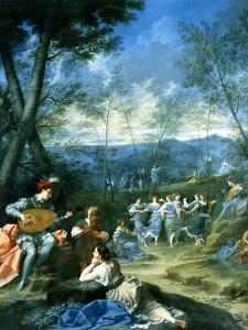 Dance of the Nymphs, C.1725 by Donato Creti