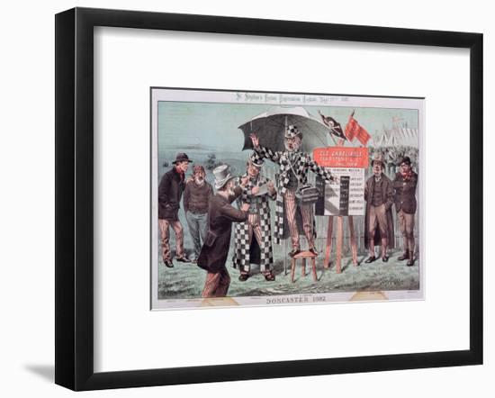 Doncaster, from 'St. Stephen's Review Presentation Cartoon', 17 September 1887-Tom Merry-Framed Giclee Print