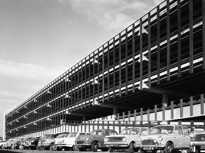 Doncaster North Bus Station Car Park, South Yorkshire, 1967-Michael Walters-Photographic Print
