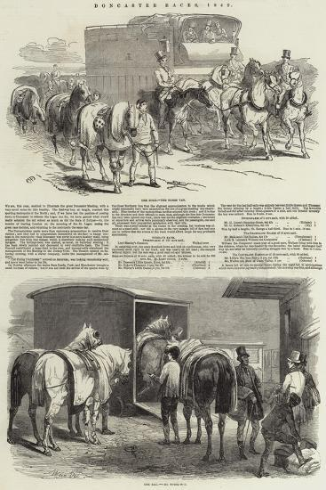 Doncaster Races, 1849-Harrison William Weir-Giclee Print