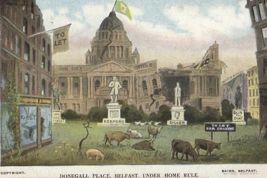 Donegall Place, Belfast, under Home Rule--Giclee Print