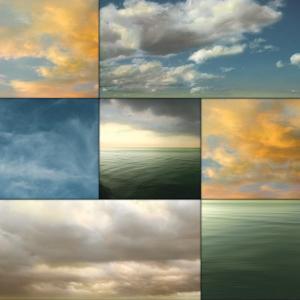 Cloud Medley I by Donna Geissler
