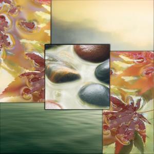 River Rocks II by Donna Geissler