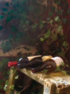 Wine Cellar I by Donna Geissler